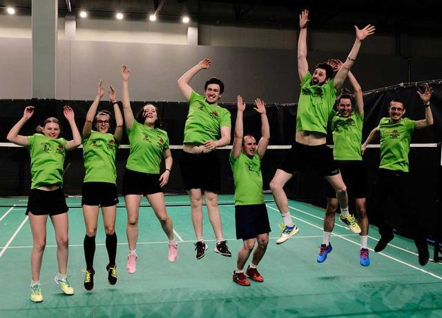 "Nacionalinė badmintono lyga, ""Makabi - Badminton Virus"" komanda, 2021.05.16, Kaunas"